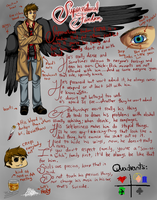 Supernatural Fandom (Fandomstuck)(Reference) by Aryan-MMVA