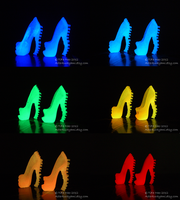 Monster High Shoes - All The Glows by TifaTofu