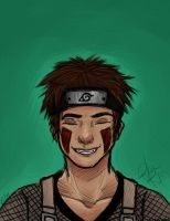 Kiba sketch by WillowKid