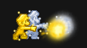 Golden Mario and Silver Luigi. by PxlCobit
