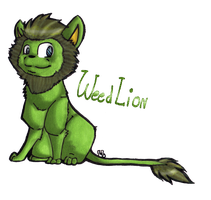 Weedlion ! by lucie45