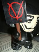 V for Vendetta Munny 2 by jrobbo
