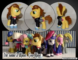 The name's Mane. Con Mane by HeyLookASign