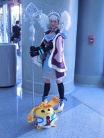 Wondercon 2015 - Melia Antiqua (4) by MidnightLiger0