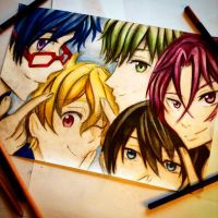 Free! finished by Sophiethebrave