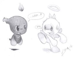 :Chao: Ghost Chao creep yu out by V1ciouzMizzAzn