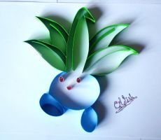 Oddish by AlmostBlueKitty