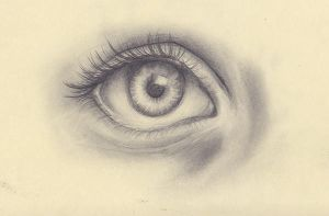 Eye Sketch by valerievargas