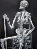 Sophisticated Skeleton by enely