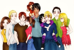the cullens by Cuine