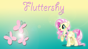 Wallpaper #2: Fluttershy by InfiniteWarlock