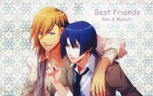 Best Friends Ren and Masato by ng9