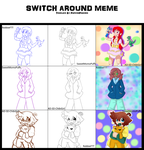 Switch Around Meme By Ad Sd Chibigirl-d8dpc2b by RobbieFTT