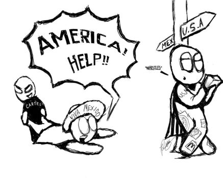 AMERICA HELP by Rubber-toe