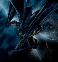 Batman Lightning by phil-cho