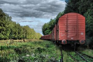 train HDR by Mommus