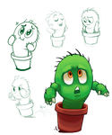 Kid Cacti by Boltstriker