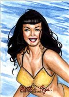 Bettie Page 1996 by Csyeung