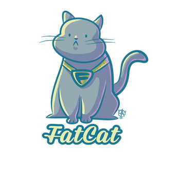 Fat Cat by AndiParent