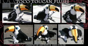 Plush: Toco Toucan by SirTrips