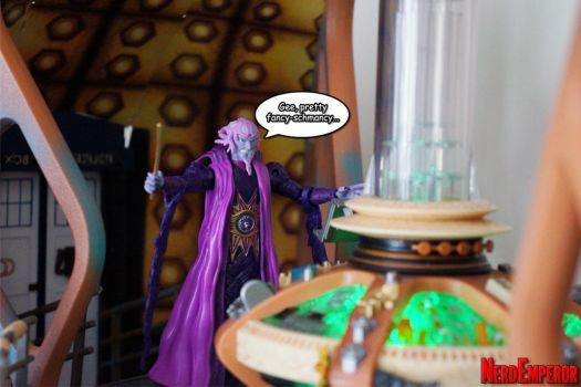 Ivan Ooze Enters the TARDIS by ZaEmpera