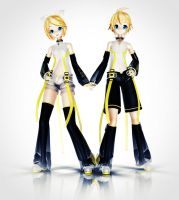 Append Rin and Len by Sithlord43