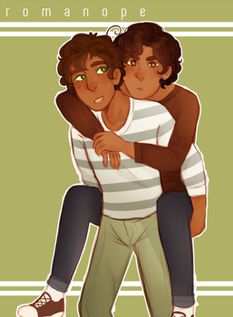 aph : he carry by romanope