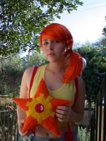 Misty and Staryu by bow-bat