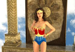 You're a Wonder, Wonder Woman. by kevmann
