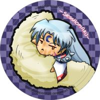 Sesshomaru Button by CrazyForJapan123