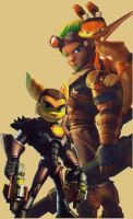 JAK AND RATCHET by TheOuterSoul