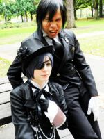 Kuroshitsuji: His Butler Photo Booms by Catchmewithyourlips