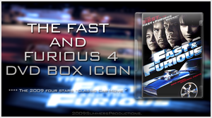 -Fast And Furious DVD Icon- by Hemingway81