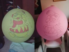 King Dedede Giant Balloons by gato303co