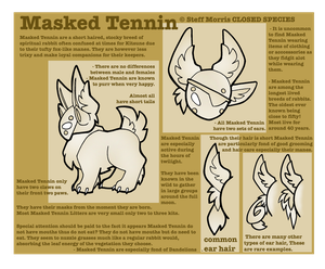 Masked Tennin - Closed Species