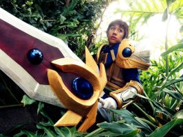LoL - 01 - Garen in the land of bushes by mangalphantom