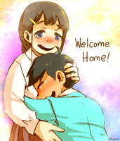 Jyushimura ::Welcome home!:: by KareIchi