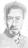 Tony Stark by leonx
