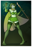 Dryad Nature Mage by Sexual-Yeti