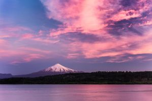 Villarica Sunset by jViks