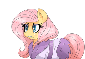 Fluttershy Horse Pony by Haxthewolf