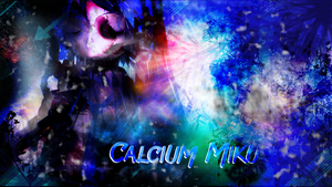 [MMD x Picture] Calcium Miku by MeyoFuar