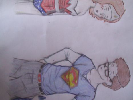 Super Squint and Wonder Women by Pepsi-Tardis