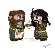 HOBBIT: Colored 6 by Kumama
