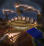 Minecraft Airship by Icestar34