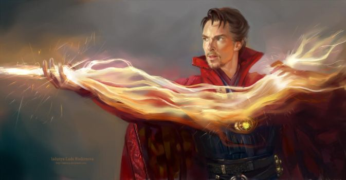 Doctor Strange 3 by ladunya