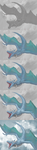 WIP Blue Dragon in the Clouds by LauraRamirez
