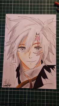 Allen Walker from D.gray man by Bloodtiesss