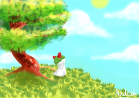 Sunny Time with Ralts by Kisetsukaze