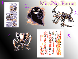 MissingNo Forms